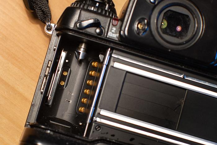 Nikon F5 styki DX
