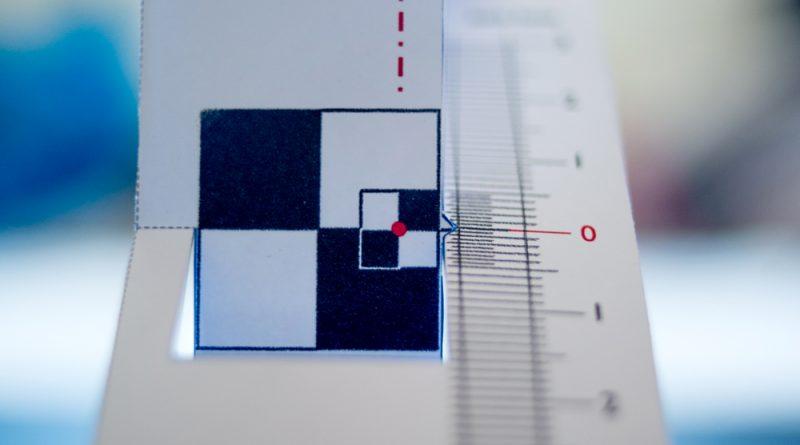Foccal 2.4XL kalibracja obiektywu